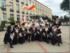 Sarmat, Vladikavkaz, Ossétie, danse